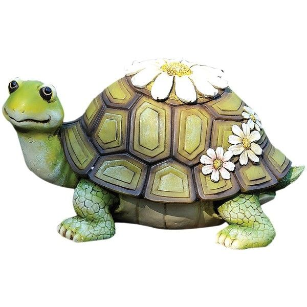 Exceptional Tall Turtle Statue Inch Resin Stone Home Garden Indoor Outdoor Decor Art