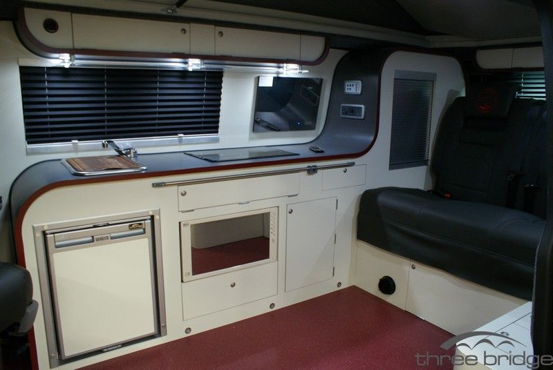 T5 camper for sale three bridge vw camper conversions for Vw t4 interior designs