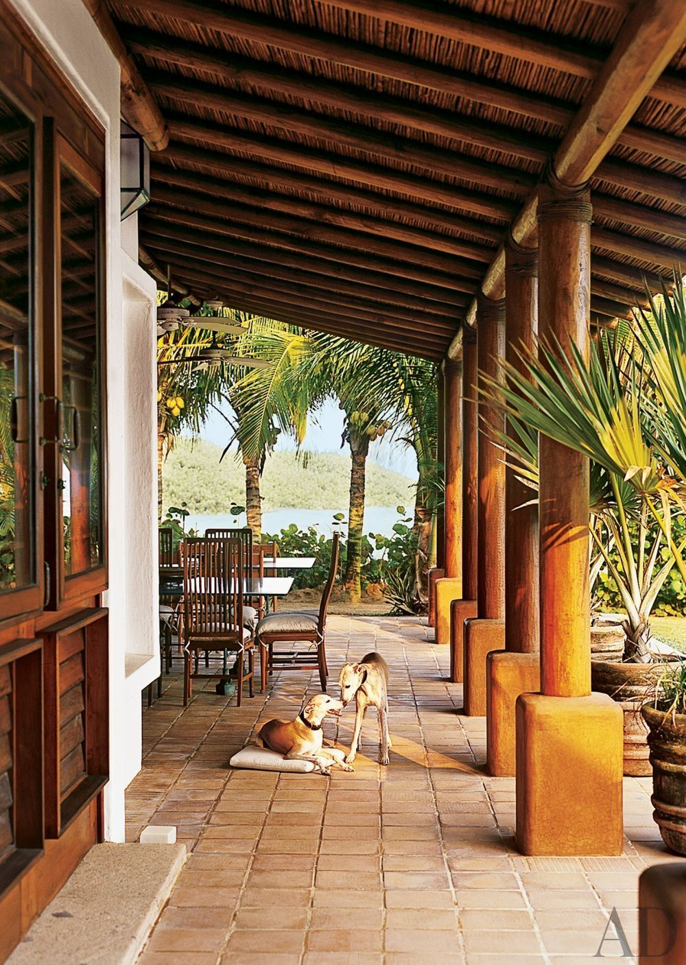 Superb Exotic Outdoor Space By Marco Aldaco In Acapulco, Mexico Pictures