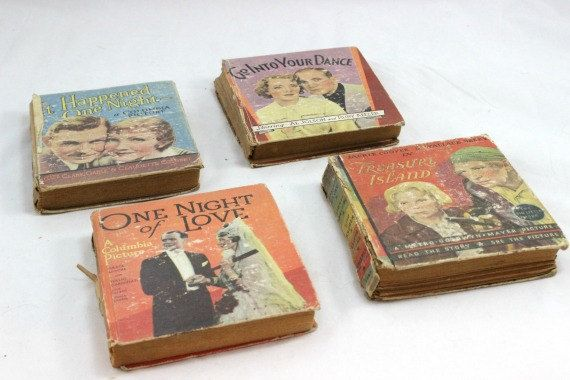 Vintage Big Little Books 1930s Movies, Including It Happened One Night