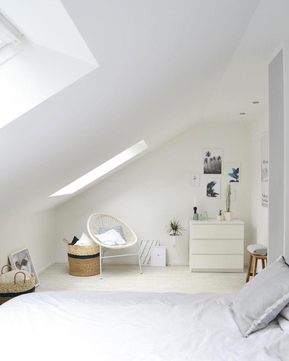 Schlafzimmer Weiß   IKEA Malm Schlafzimmerideen  Wohnkonfetti