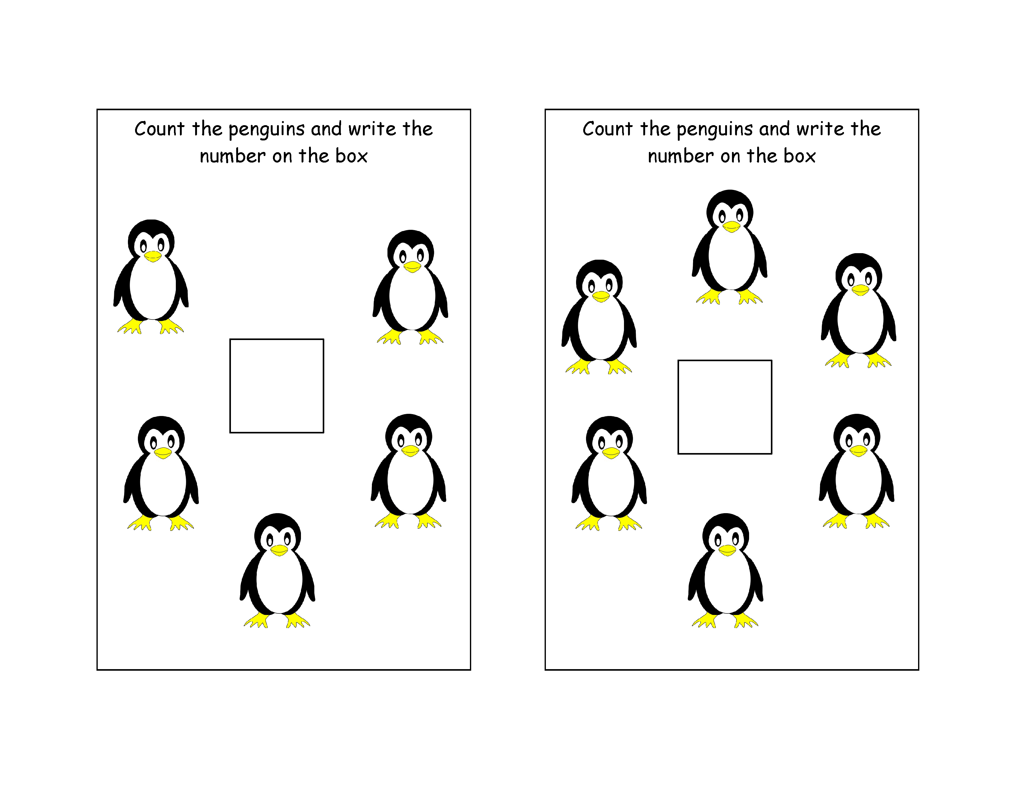 Count The Penguins