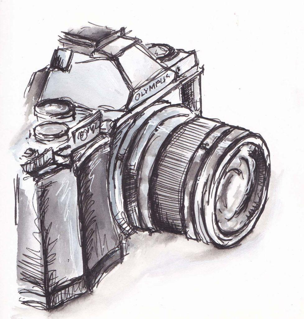 Pin De Chilly En I Photography Arte Con Camara Dibujos Camaras Fotograficas Dibujo De Camara