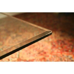 42 Square Glass Table Top 1 2 Thick 1 Beveled Edge By Spancraft Glass 172 95 Rubber Bump Ons Included For Installation Brillia Glass Table Cheap Dining Room Sets Glass Shower Doors