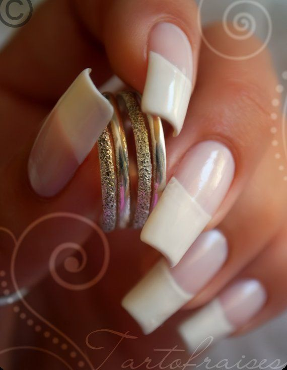 french manicure - french nails   Nail Art & Care   Pinterest ...