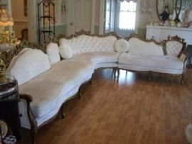 French Provincial Sectional Sofa : french provincial sectional sofa - Sectionals, Sofas & Couches