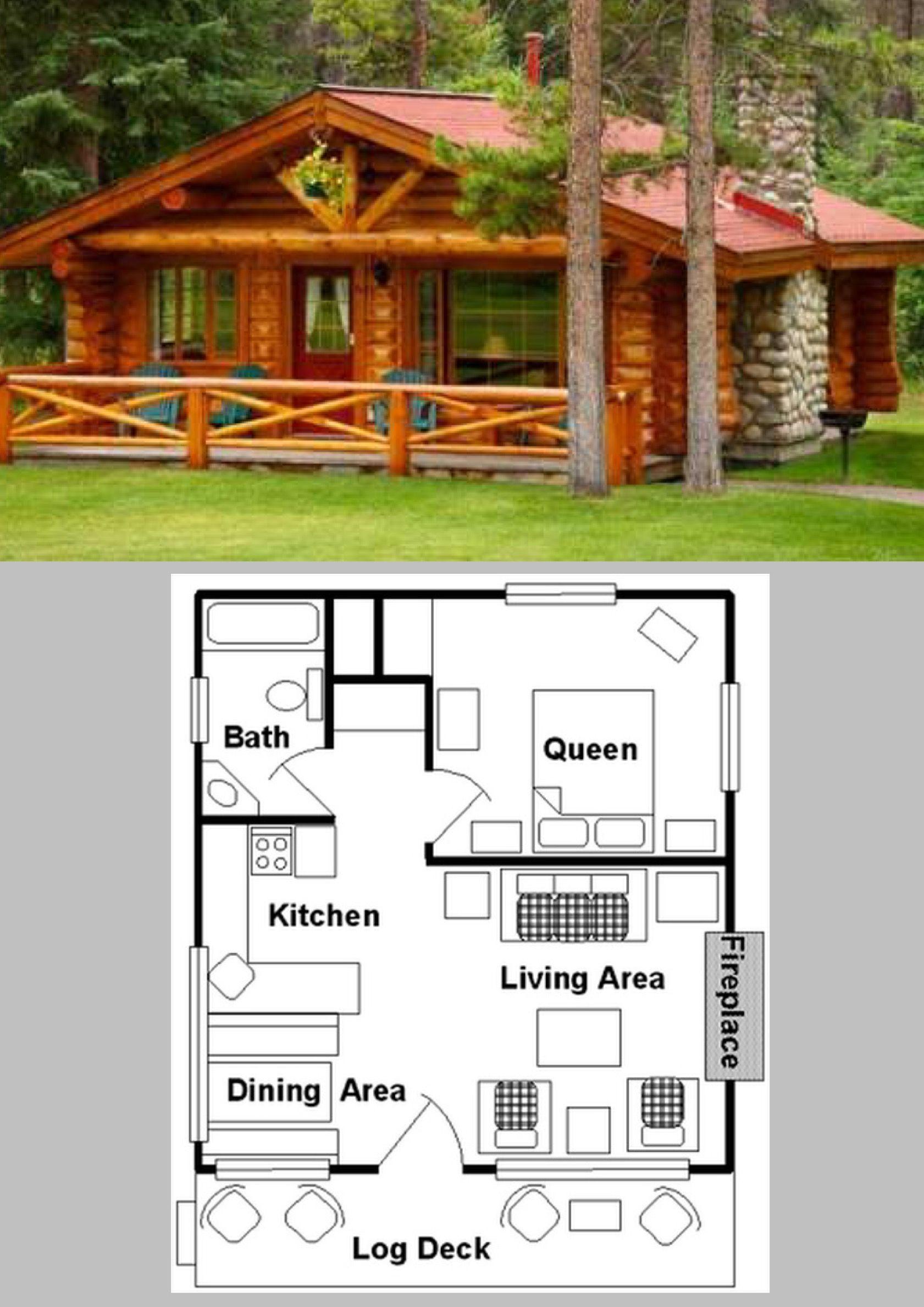 Tiny Cabin Living   casas rusticos   Pinterest   Tiny cabins ...