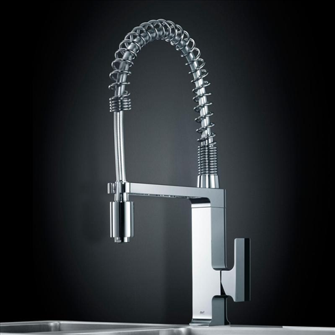 dorf jovian pull down sink mixer carla davison kitchen - Kitchen Sink Mixers