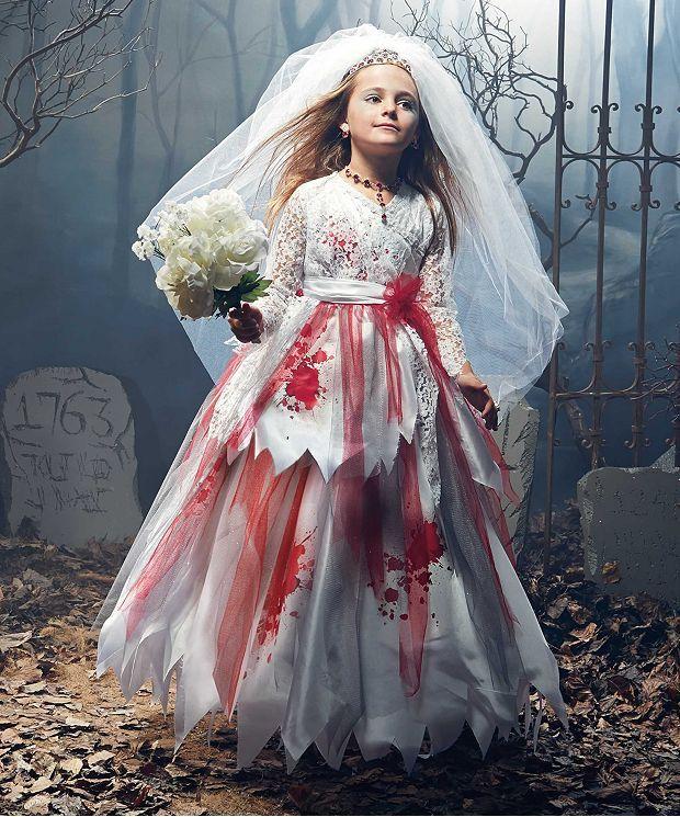 Zombie Bride Costume Set