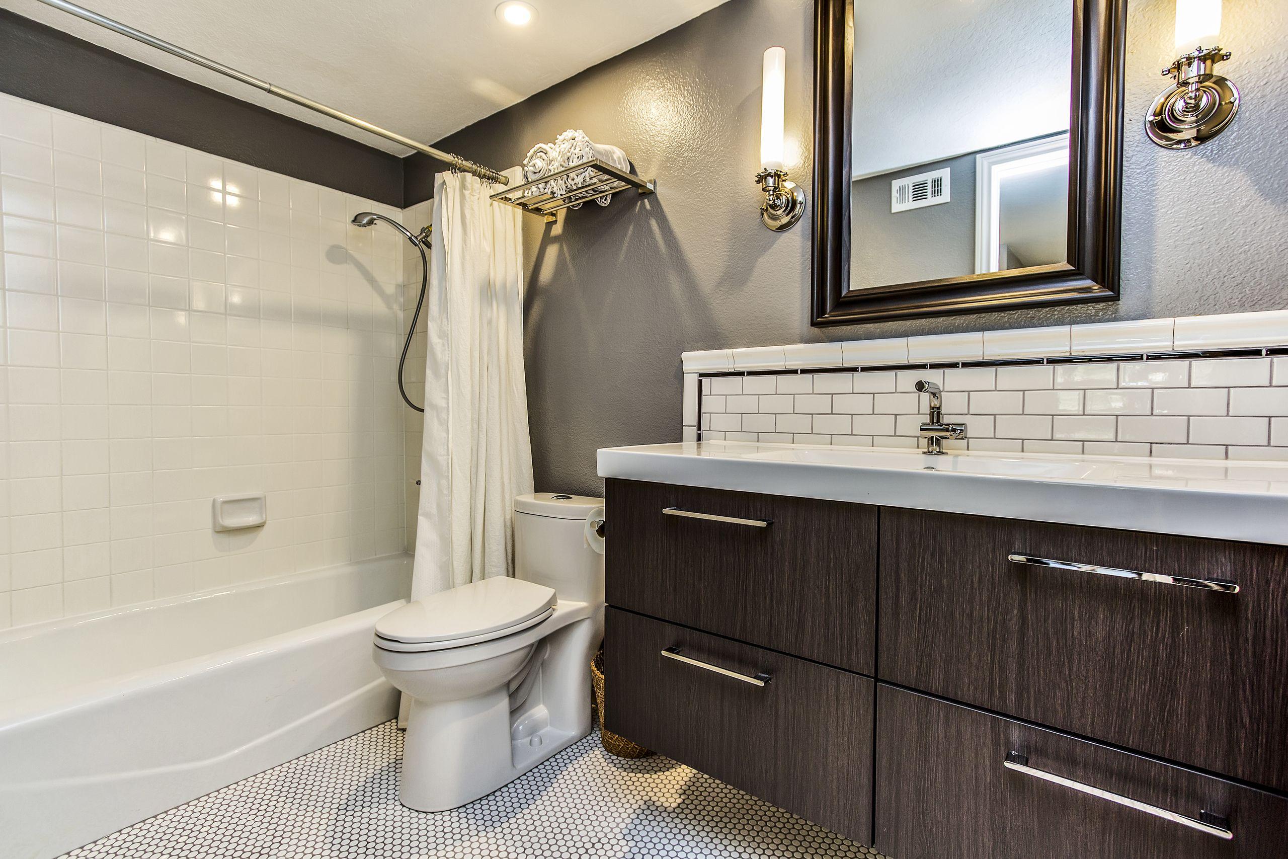 Bathroom Remodel Small Train Rack Subway Tile Backsplash With