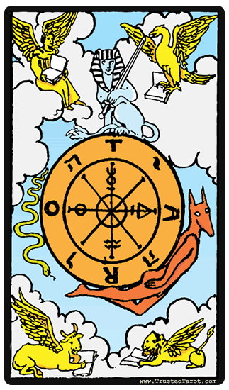 The Wheel Of Fortune Tarot Card Meaning Timing More Wheel Of Fortune Tarot Fortune Cards Tarot Card Meanings
