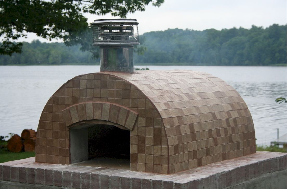 Cortile barile package oven and house
