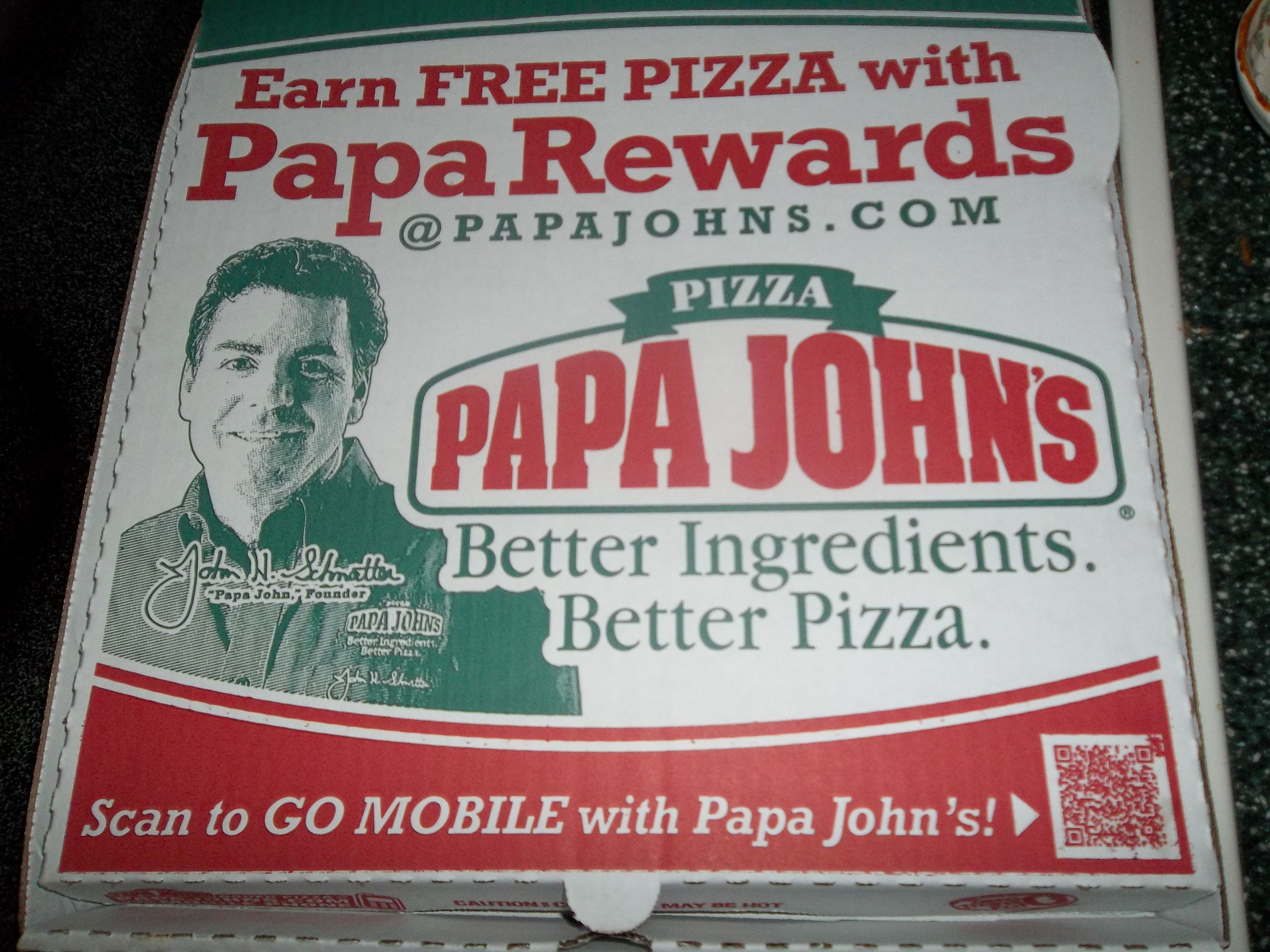 6.28.12-Live at the Levee, and I almost passed out. To make up for it, I got Papa John's pizza :)