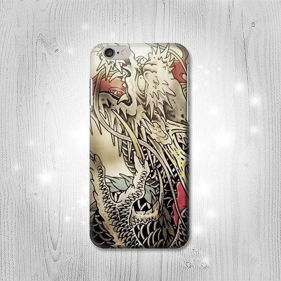 Yakuza Tattoo Hard & Leather Flip Case iPhone 11 11 Pro