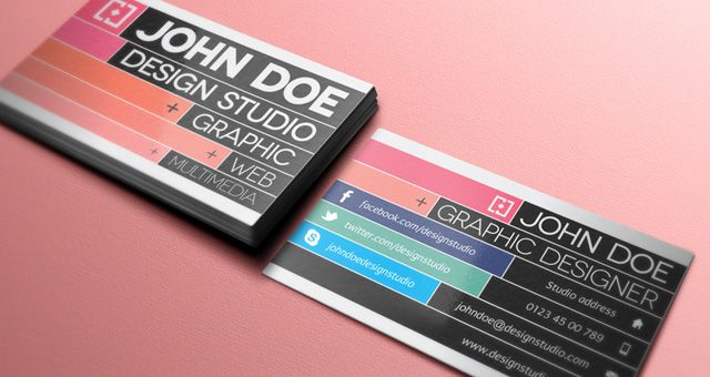300 free psd business card templates - Graphic Design Business Ideas