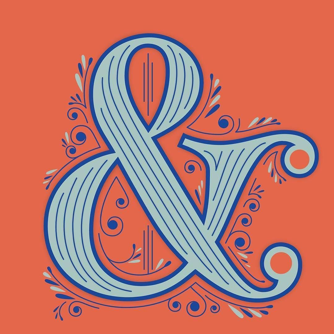 Love a good ampersand. Type by martinaflor typegang