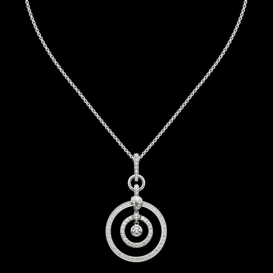 White gold Diamond Pendant G33PZ500 Piaget Luxury Jewelry Online