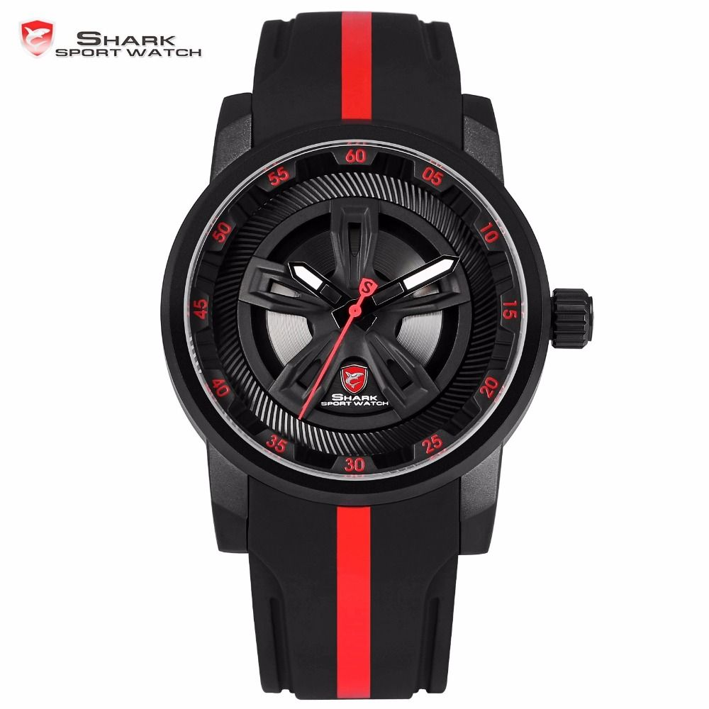 8aeb3a531 Thresher SHARK Sport Watch Brand Wheel Design The giant and monster look  watch is named thresher shark sport watch brand. The design makes it unique  from ...