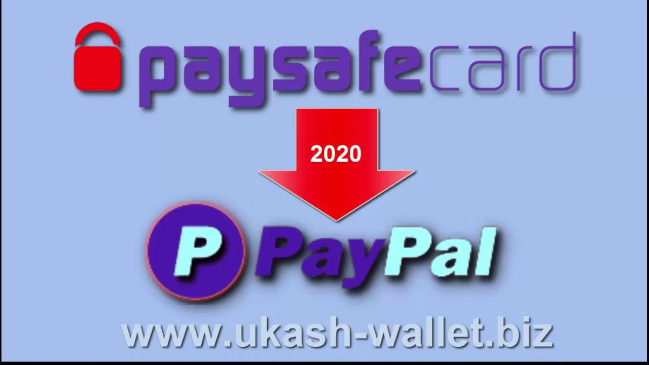How To Transfer Paysafe To Paypal