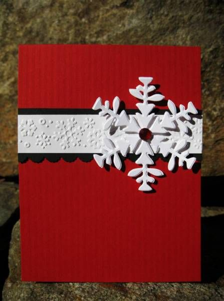 Elegant Snowflake by catcrazy - Cards and Paper Cr