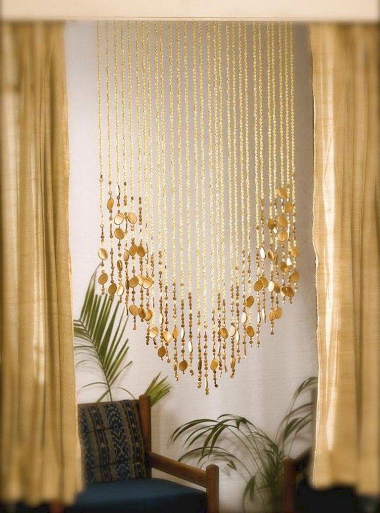 62 Lovely Bohemian Beaded Curtains Decor Ideas Page 42 Of 64 Door Beads Beaded Curtains Beaded Door Curtains