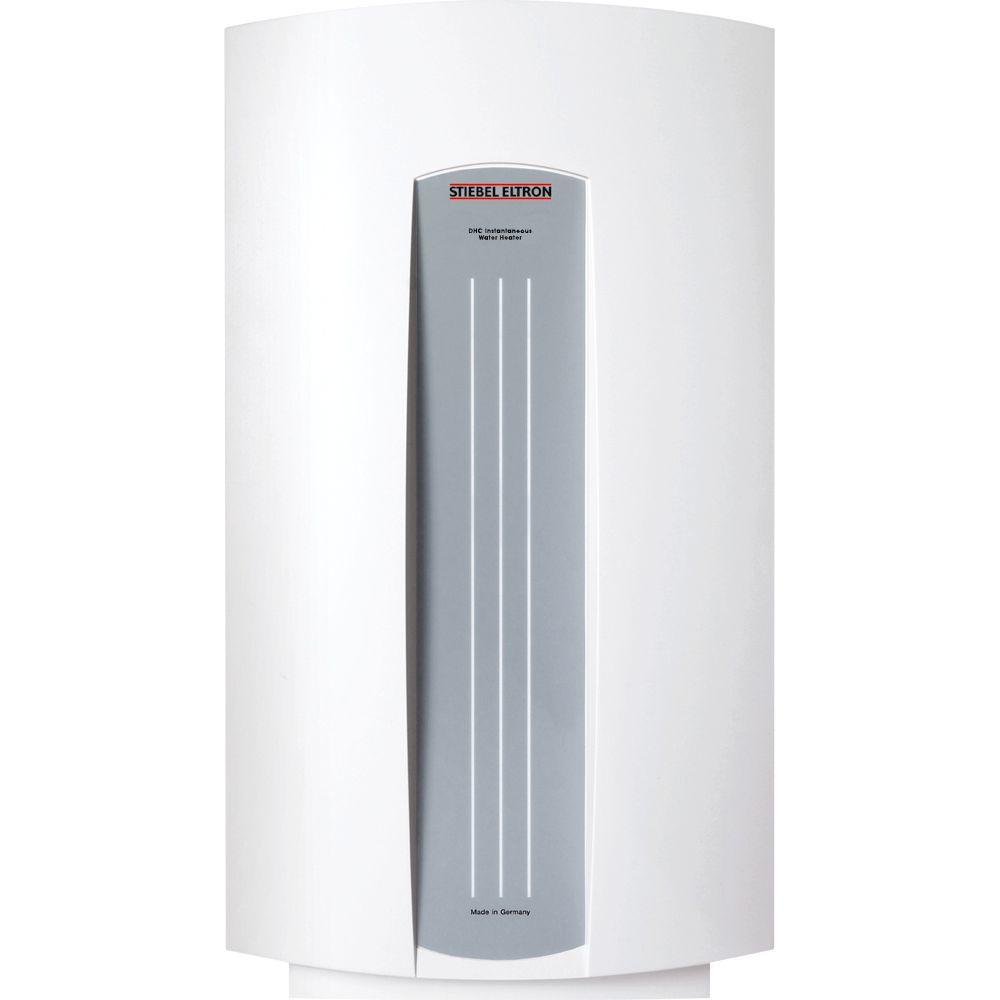 Stiebel Eltron Dhc 4 3 4 5 Kw 68 Gpm Point Of Use Tankless Electric Water Heater Dhc 4 3 The Home Depot Electric Water Heater Instantaneous Water Heater Tankless Water Heater