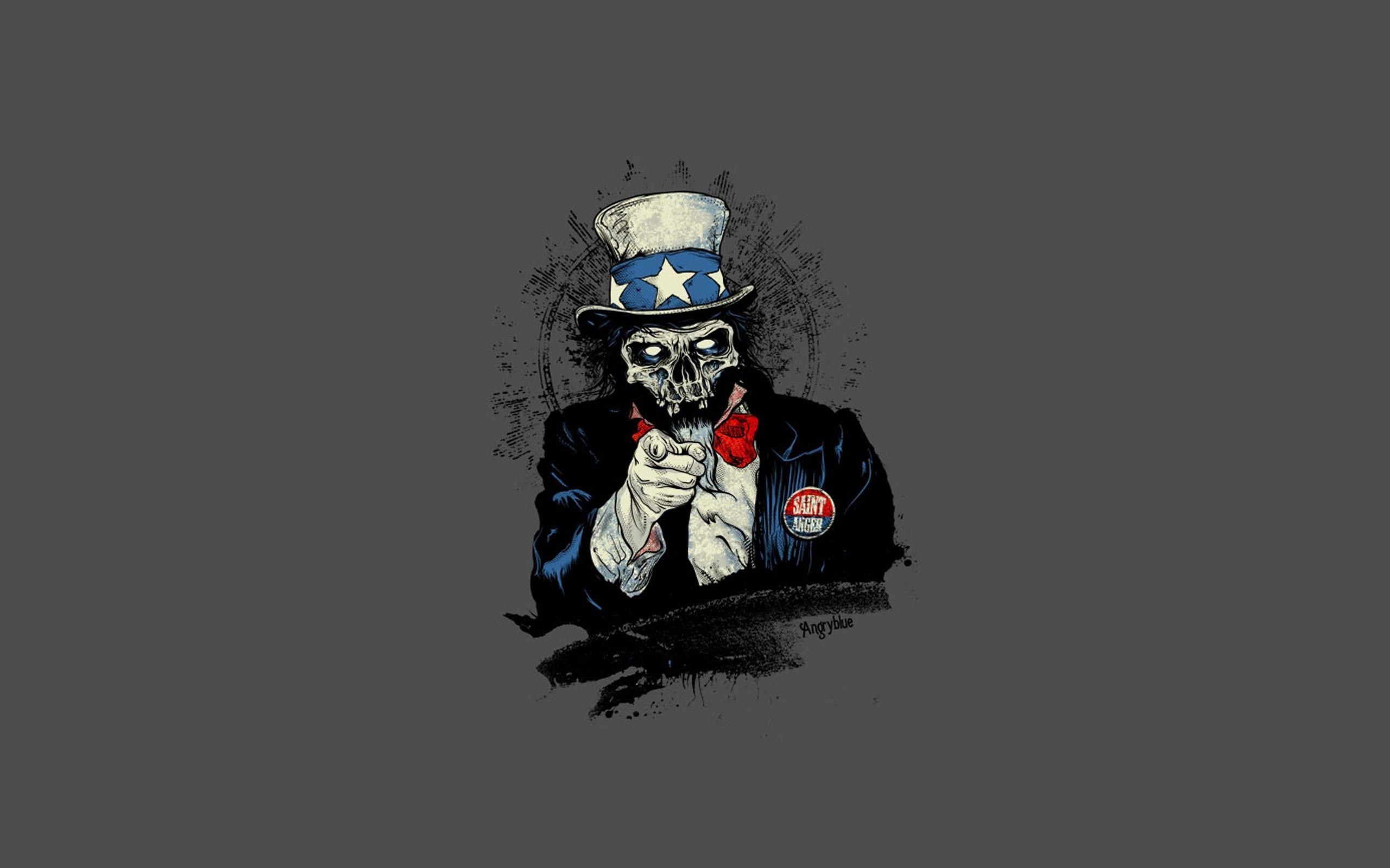 Dark skull skulls humor sadic wallpaper | 2560x1600 ...