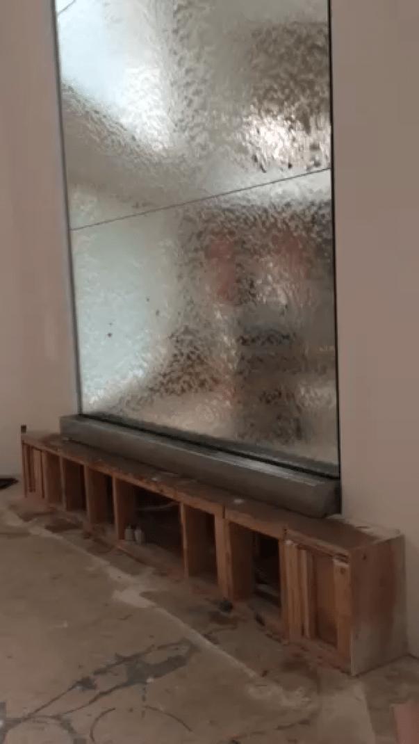 Custom Indoor Water Wall For Residence Gardenpond Garden Pond