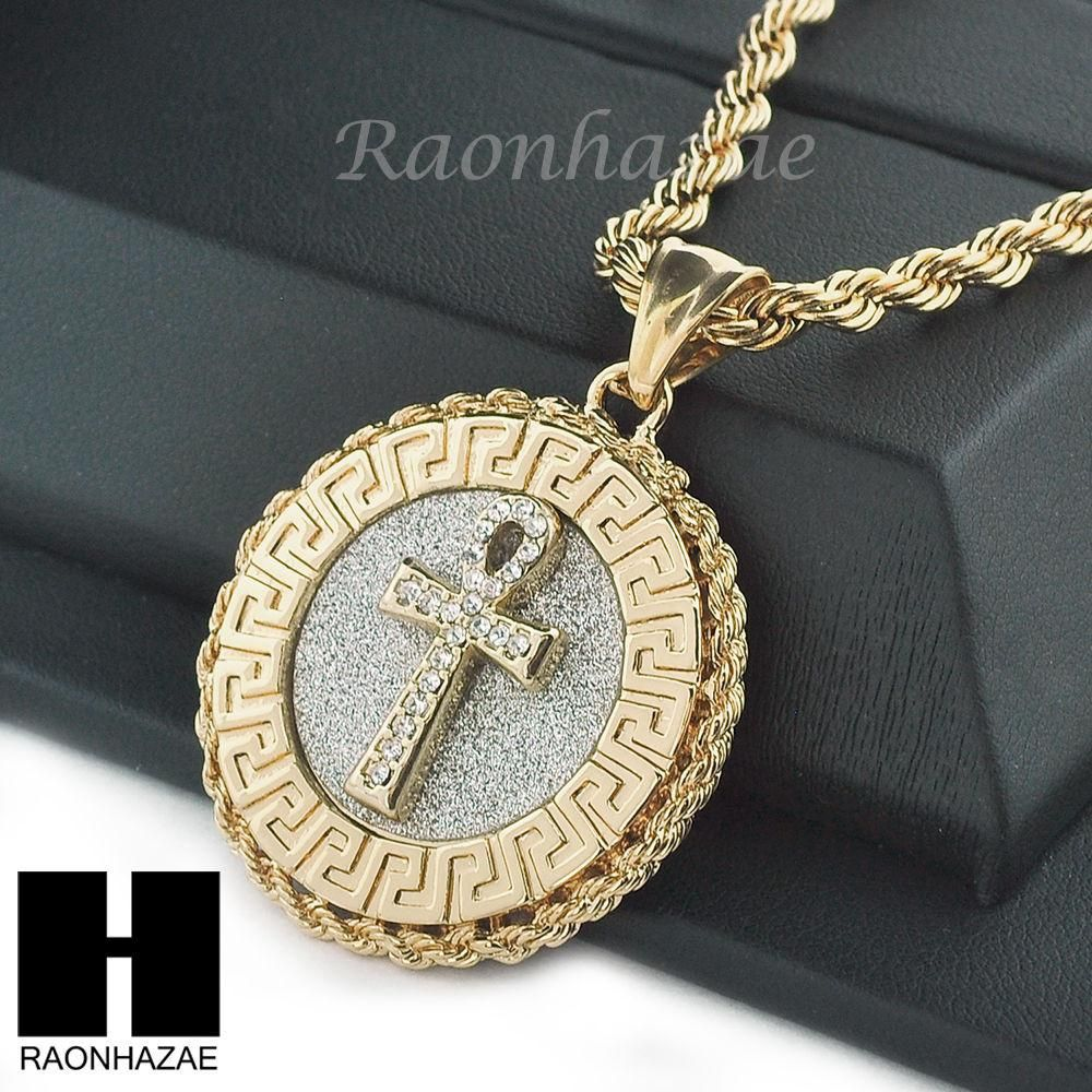 greek curb medallions patern edcfbf chain medusa medallion mens gold quot cuban