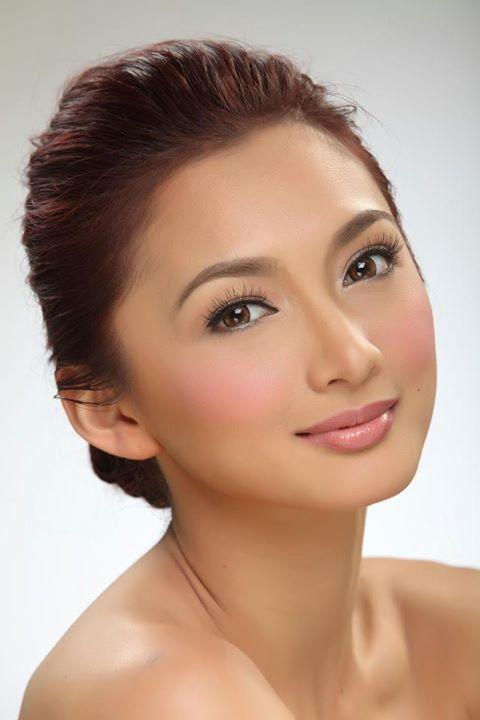 Iya Villania Filipina Beauty Beauty Face Women Wedding Makeup
