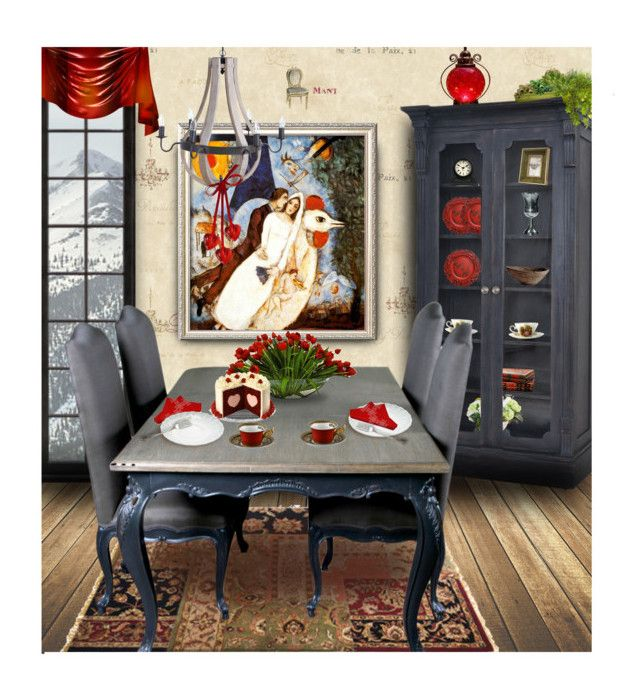 """♥ ANYTHING Valentine's ♥ ~ Contest"" by tiffanysblues ❤ liked on Polyvore featuring interior, interiors, interior design, home, home decor, interior decorating, York Wallcoverings, Winward, A&B Home and KARE"