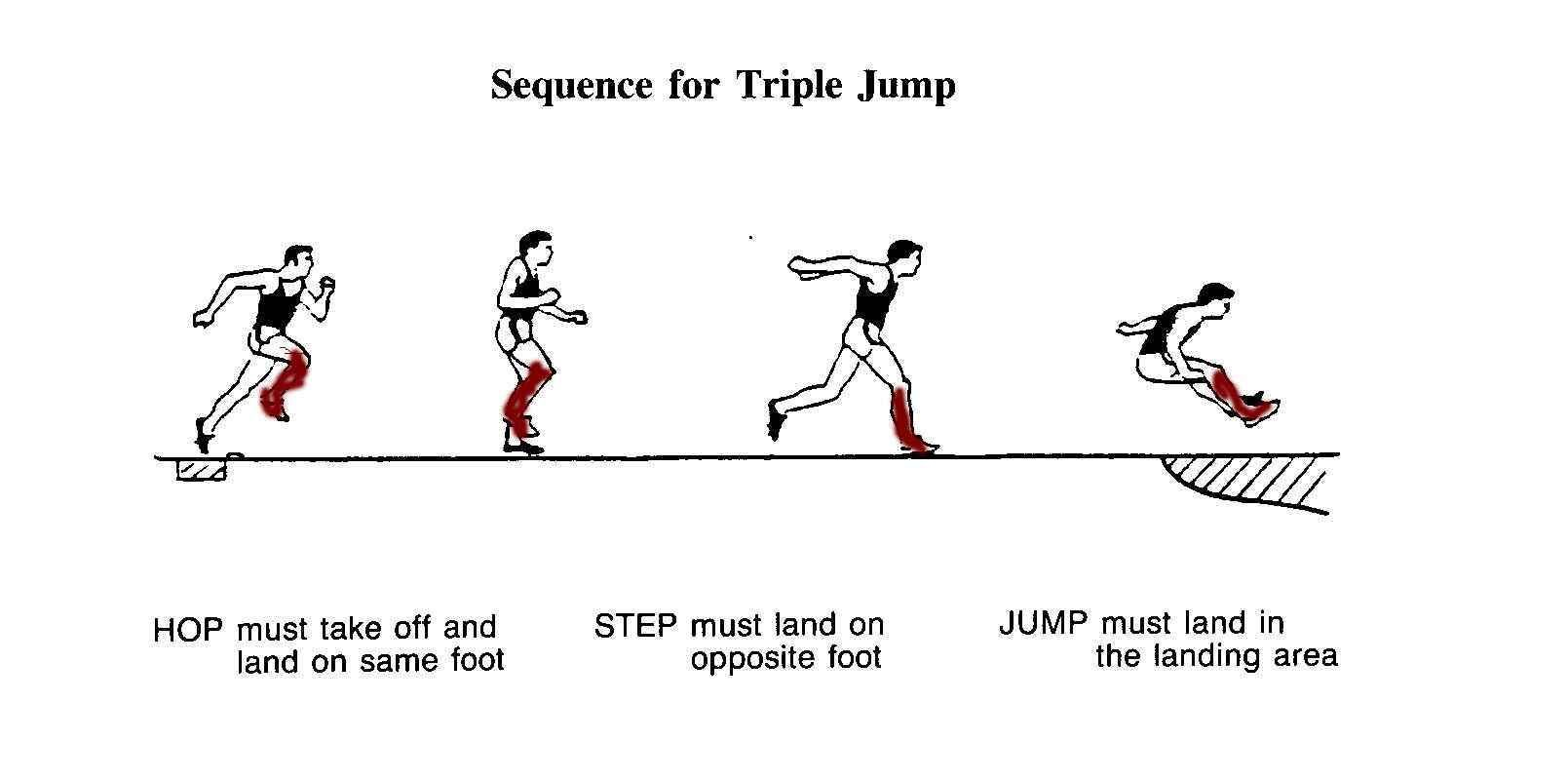 Triple Jump Technique Triple Jump Track And Field Jump Workout