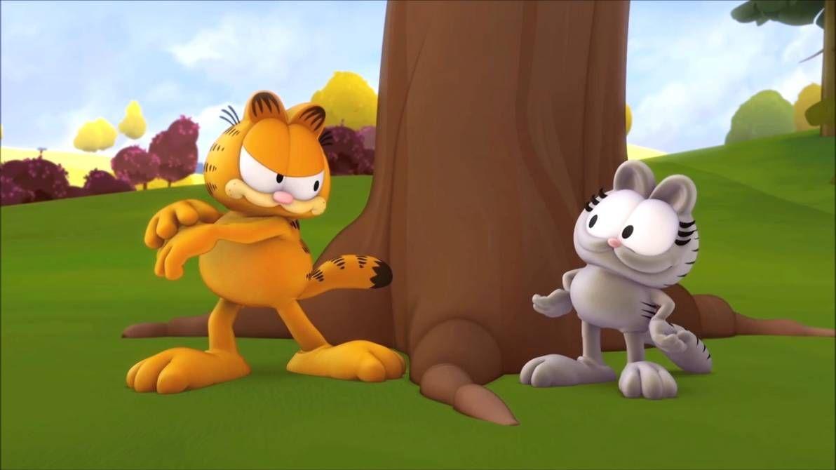 Garfield Show S1e23 Garfield Nermal By Https Www Deviantart Com Giuseppedirosso On Deviantart In 2020 Garfield Animated Movies Animation