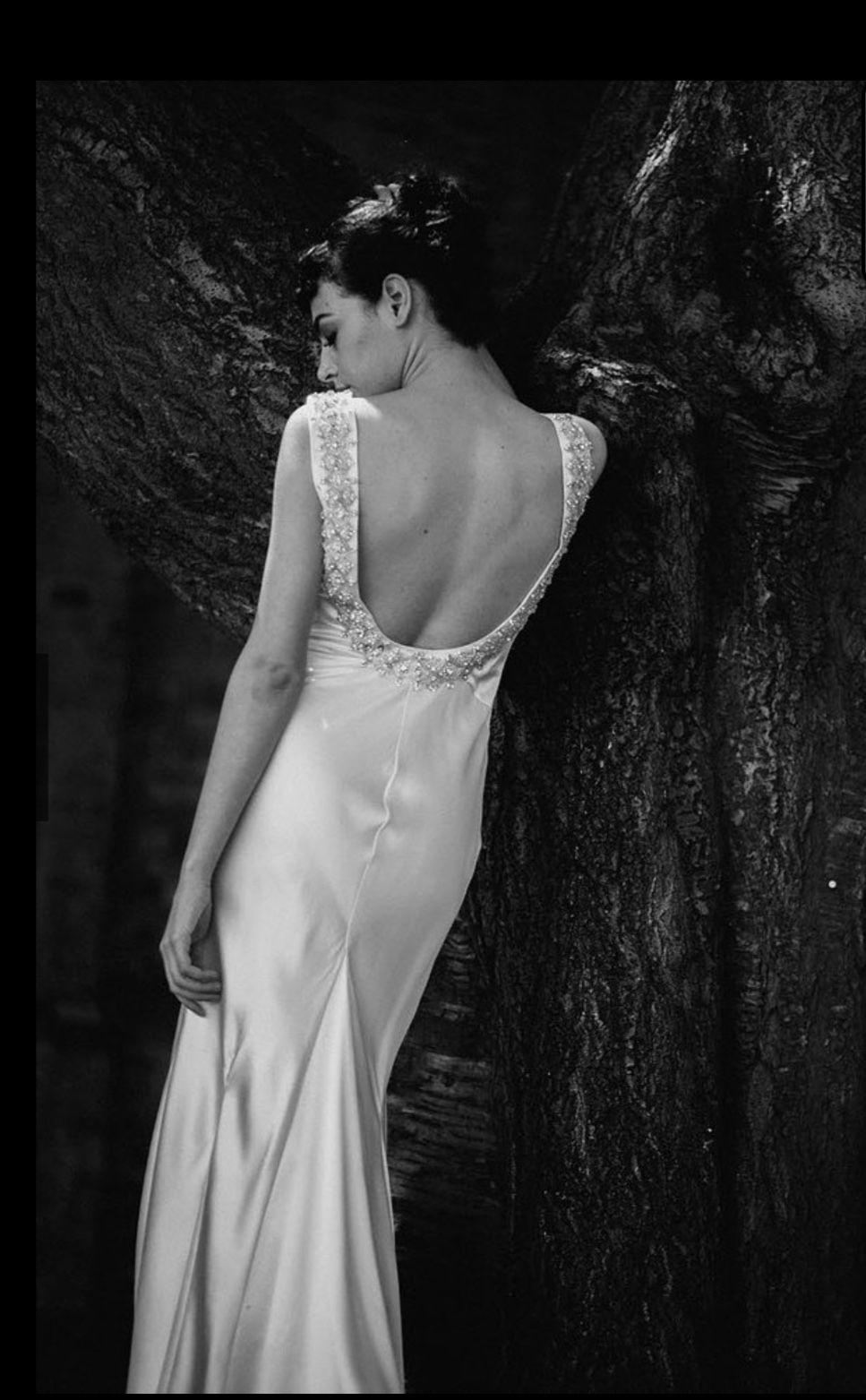 Preloved pronovias wedding dresses  La Poesie uEliseu  lapoesie elise beadedweddingdress