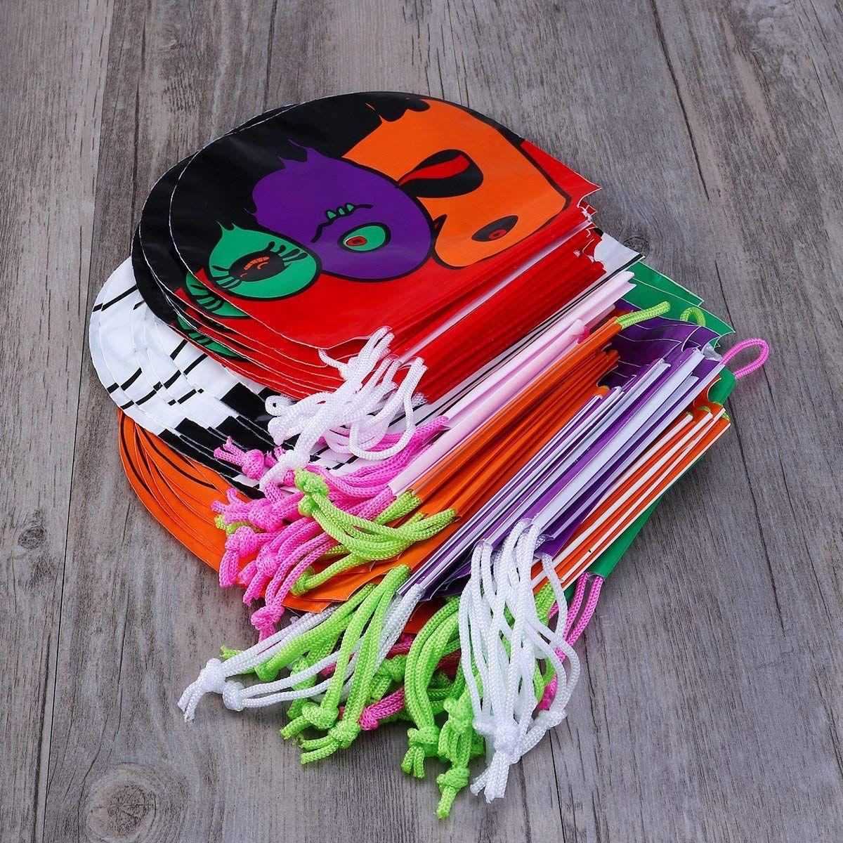 Unomor Halloween Candy Bags Drawstring