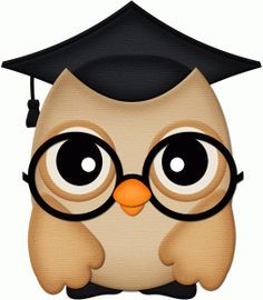 silhouette online store view design 59120 graduation Pink Owl Clip Art Graduation Owl with Graduation Hat Clip Art