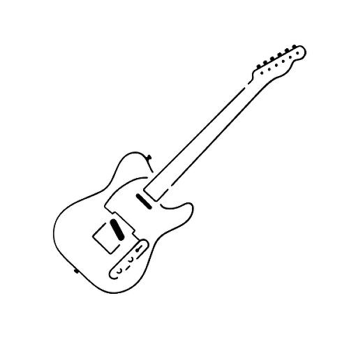 Telecaster Tattoo Semi Permanent Tattoos By Inkbox In 2021 Guitar Tattoo Guitar Tattoo Design Monkey Tattoos