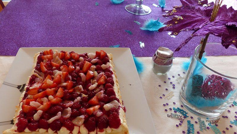 Pavlova for Chloe's Birthday . . .