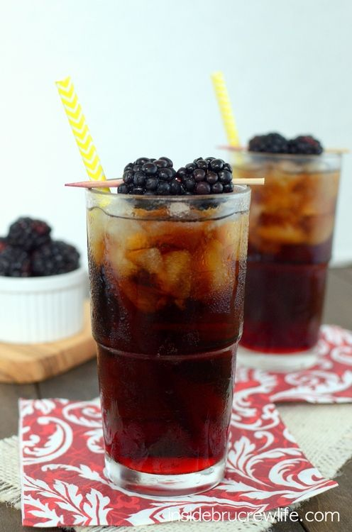 Blackberry Diet Dr Pepper Stuffed Peppers Yummy Drinks Recipes