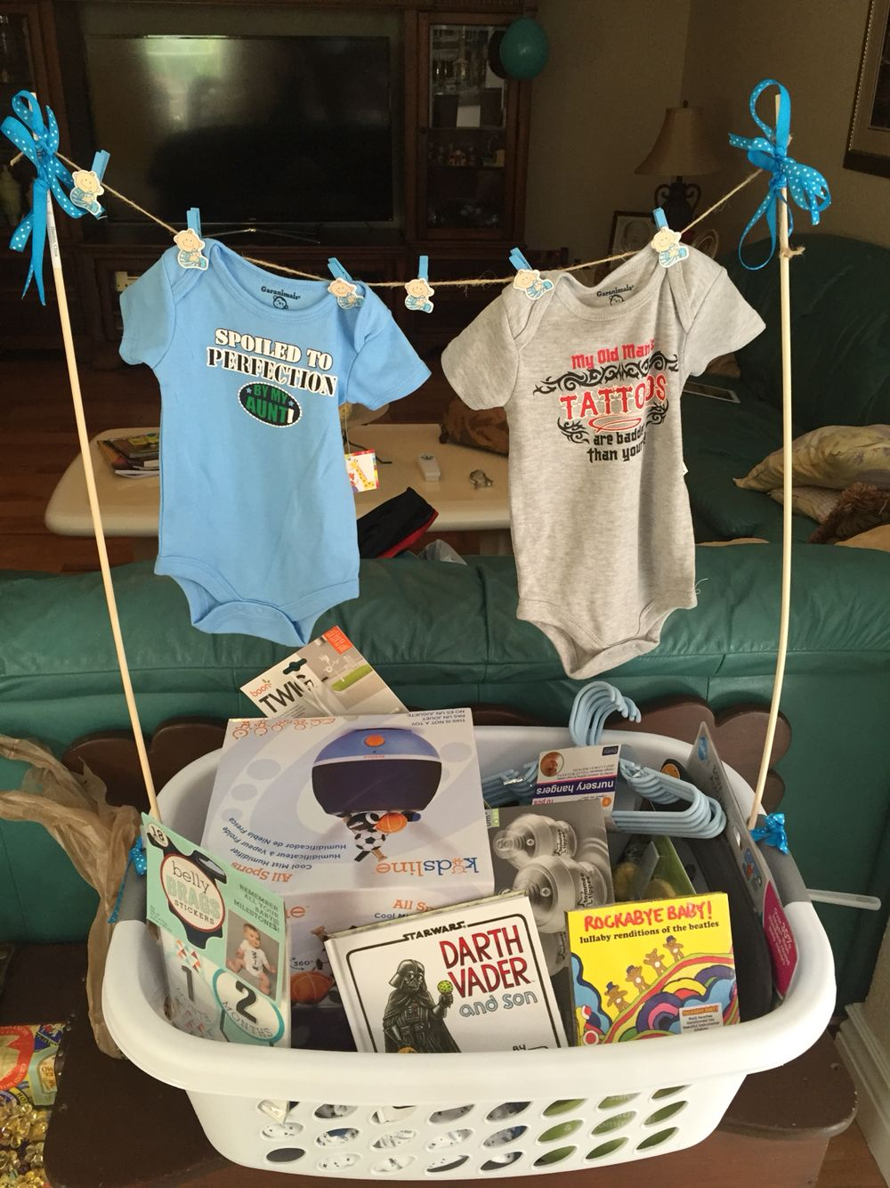 Baby Shower Gift Forget Wrapping Just Fill A Laundry Basket