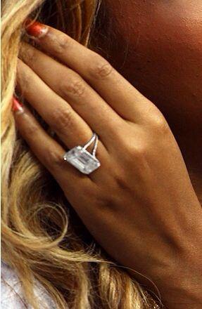 Beyonce's ring.