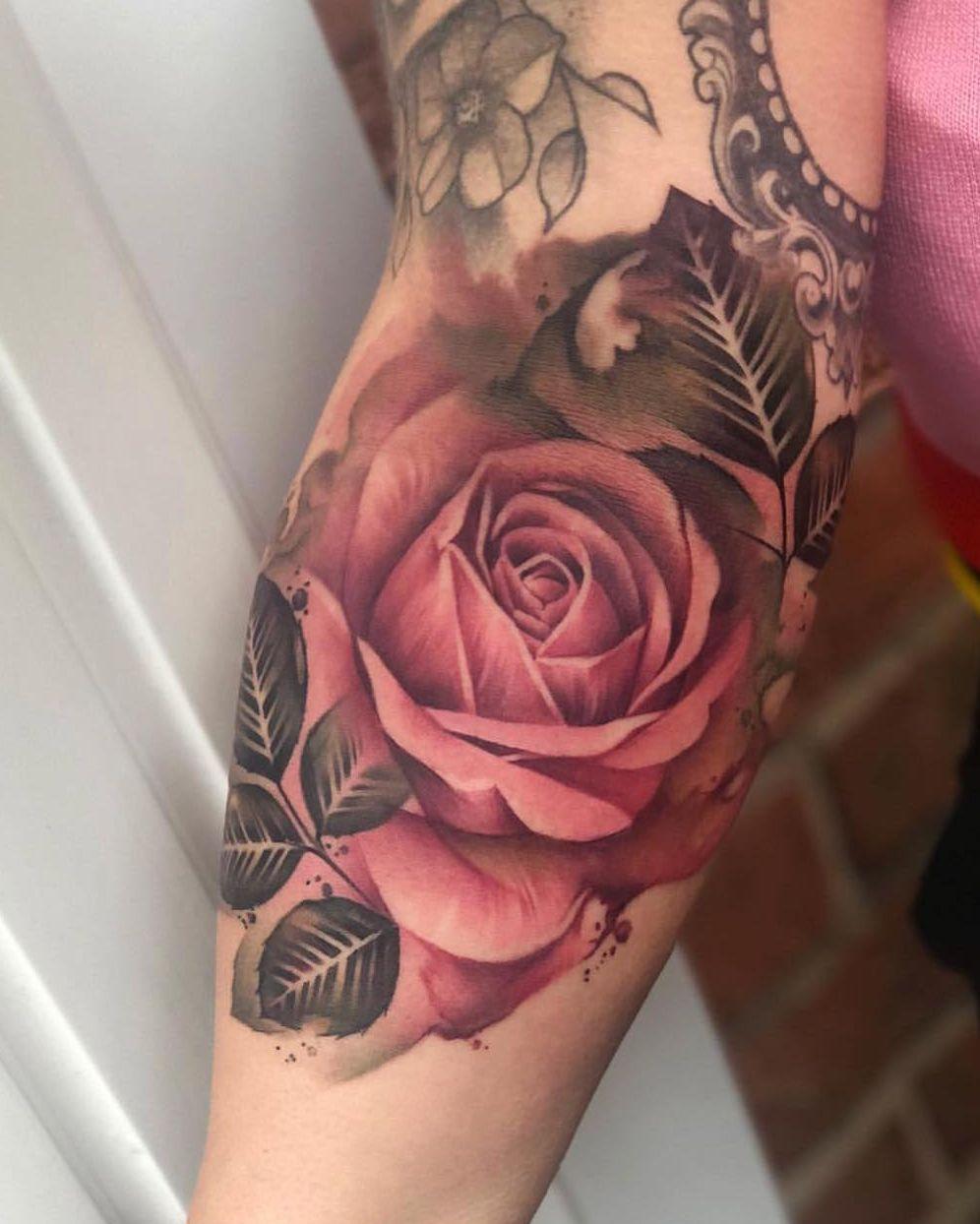 можете тату роза элегантные фото возможные варианты его