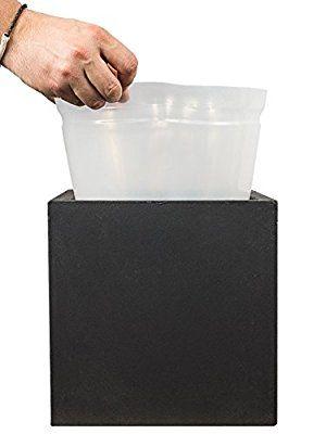 Pflanzwerk Pflanzkübeleinsatz Blumenkübeleinsatz Kunststoff Einsatz Für Alle Cube Modelle 45x55x55cm Frostbeständig Qualitätsware