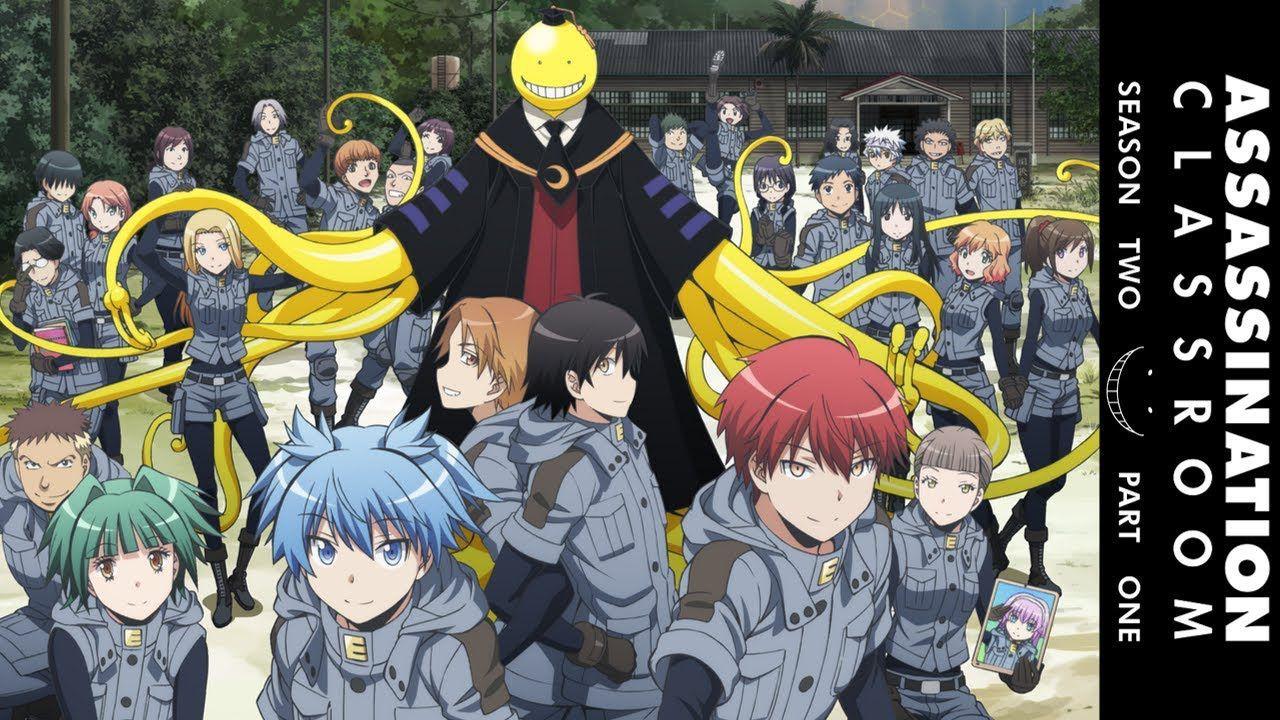 Secretive Brothers Knb X Ansakyuo Discontinued The Game Pt 2 Assassination Classroom Assasination Classroom Japanese Anime Series