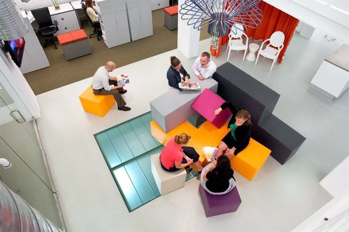 OTJ Architects' Bright and Colorful Washington D.C. Offices