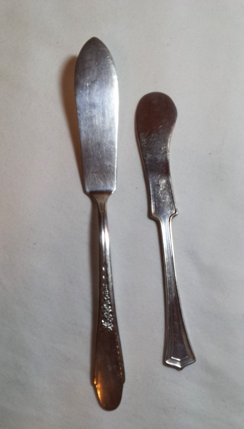 Butter Knives Wm A Rogers & Son AA I S 1881 Rogers A1