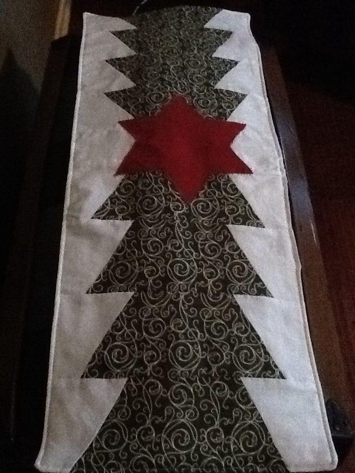 Christmas Tree Quilt Runner From Missouri Star Quilt
