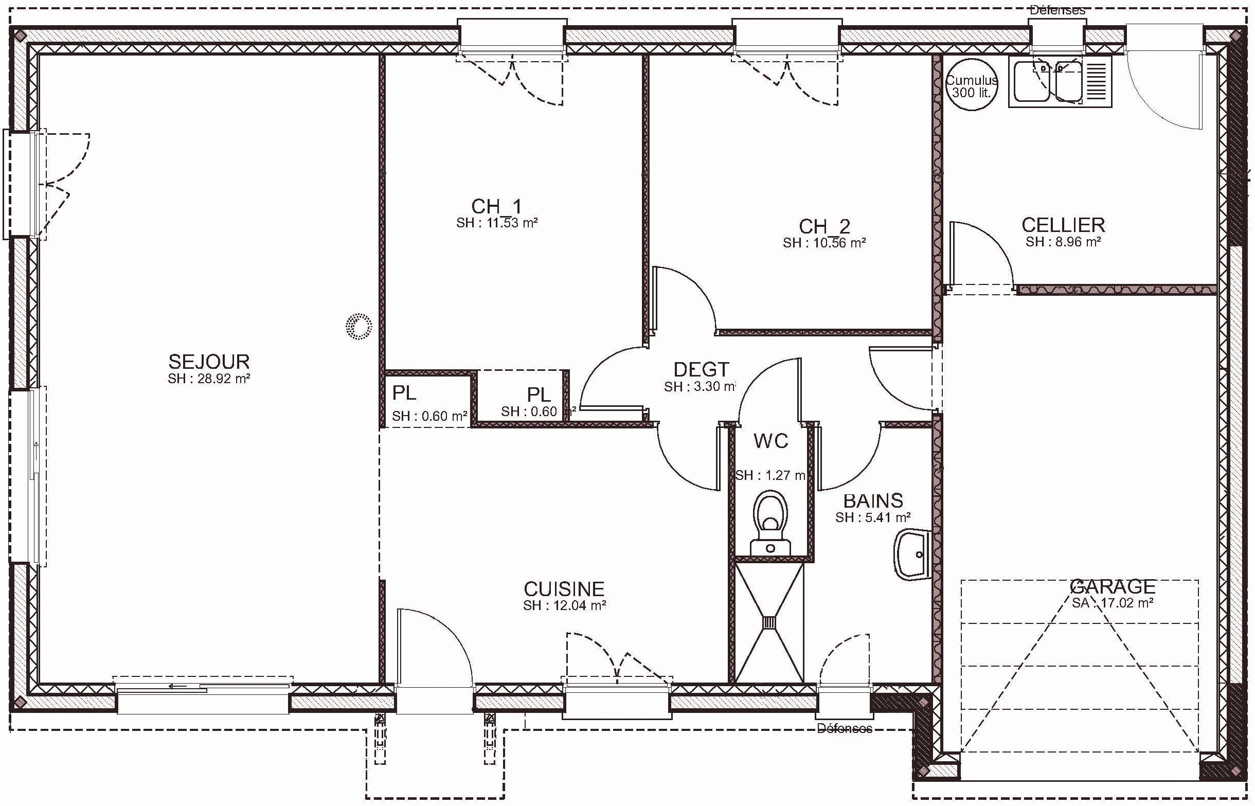 8 Plan Maison Plain Pied Gratuit Good Company How To Plan Floor Plans