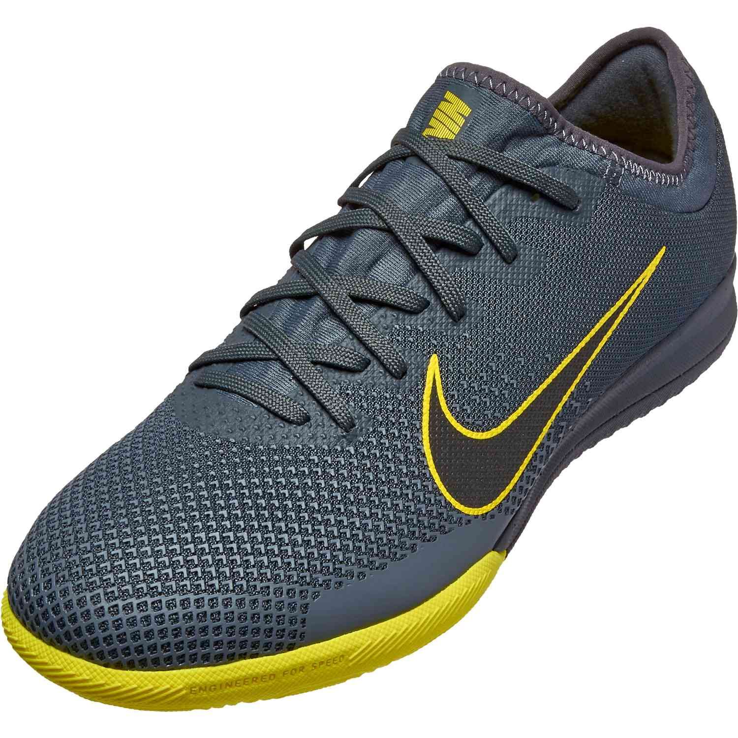 1fe221399 Shop for these Nike Mercurial Vapor 12 Pro indoor soccer shoes from  SoccerPro.