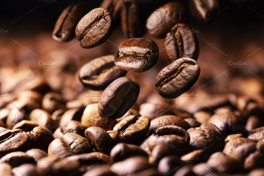Coffee Beans Falling On Pile Buy Coffee Beans Coffee Beans Beans